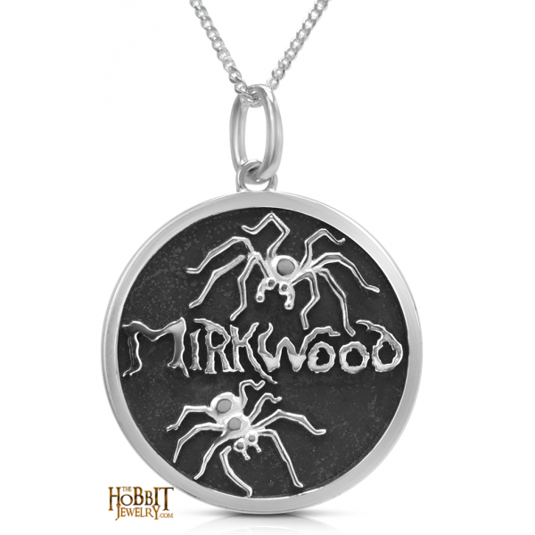 """The Hobbit Mirkwood Spider Necklace - Lord of the Rings Ring Jewellery - The Official """" Hobbit"""" Mirkwood Spider Necklace, from our official Hobbit Jewelry collection, is handcrafted by Middle Earth New Zealand's"""