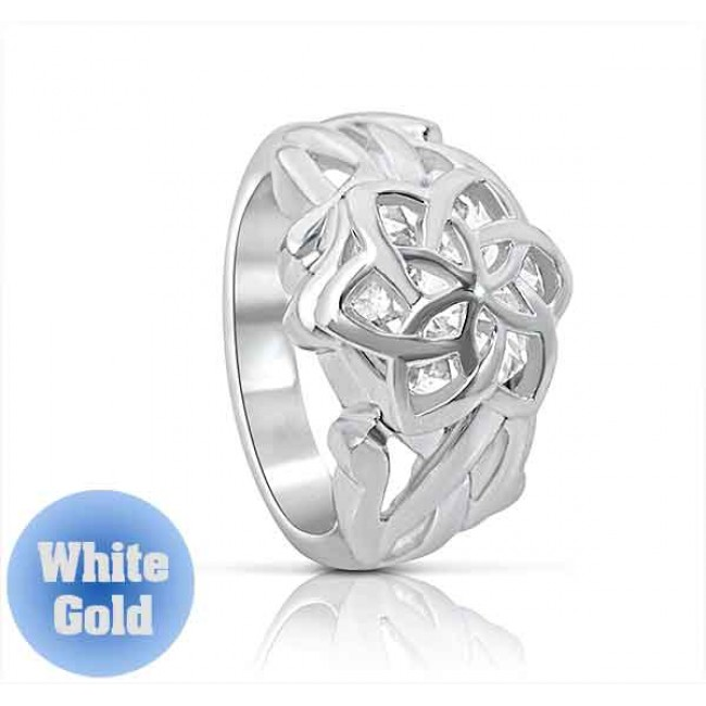 Galadriel's Nenya Ring White Gold - Lord of the Rings