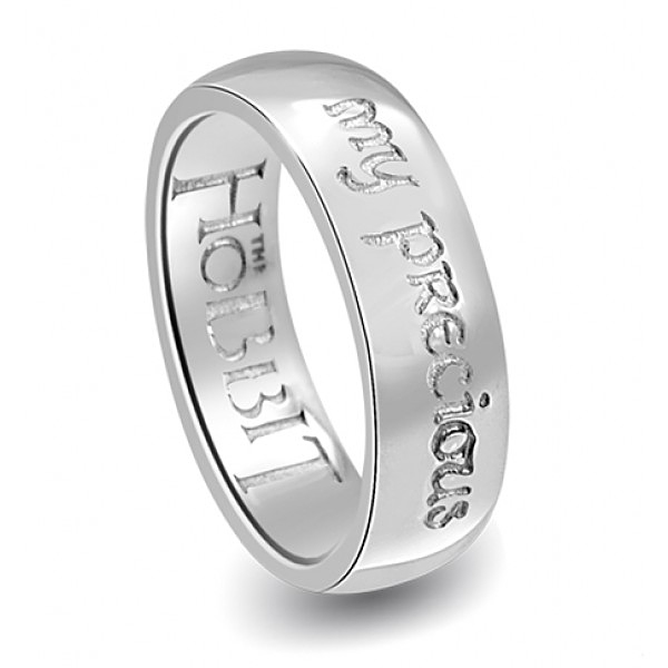 """The Hobbit  My Precious Ring - Lord of the Rings Ring Jewellery - The Official Licensed """"The Hobbit My Precious"""" ring hand crafted here in Middle Earth New Zealand, home The Lord of the Rings and Hobbit Trilogy"""