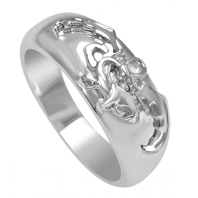 The Hobbit Desolation of Smaug Silver Ring