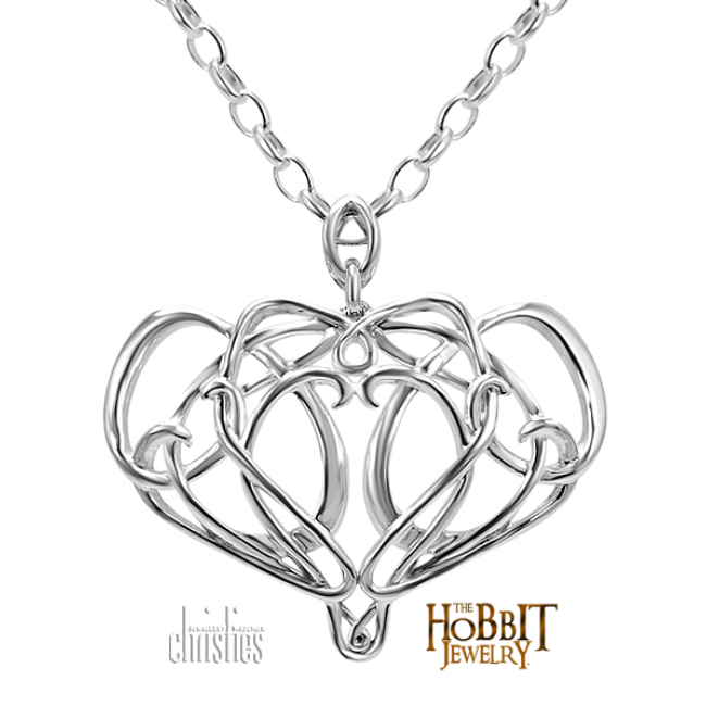 The Hobbit Silver Elrond Necklace